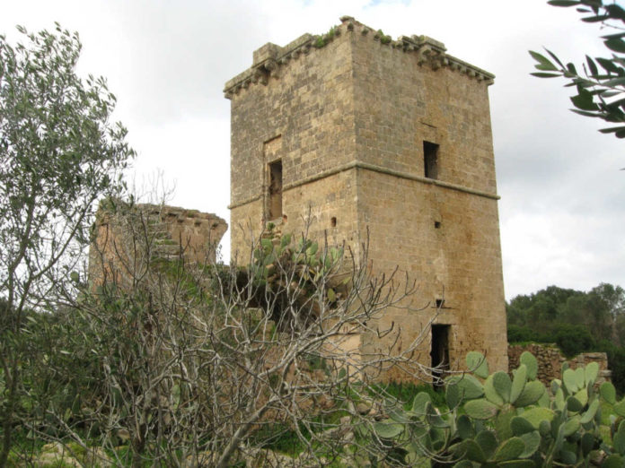 masseria fortificata ospina racale